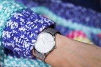 zegarek Obaku Denmark V217LXCWMC srebrny Slim