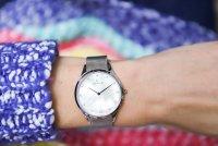 Obaku Denmark V217LXCWMC FIN - STEEL Slim klasyczny zegarek srebrny