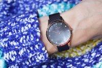 Obaku Denmark V217LXVNMN Slim FIN - WALNUT zegarek damski fashion/modowy mineralne