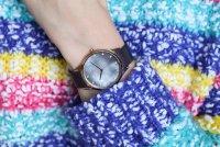 zegarek Obaku Denmark V217LXVNMN różowe złoto Slim