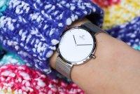 Obaku Denmark V230LXCWMC PAPIR LILLE - STEEL zegarek klasyczny Slim
