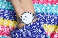 Obaku Denmark V230LXCWMC zegarek srebrny klasyczny Slim bransoleta
