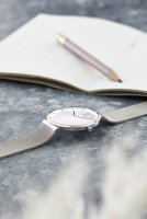 zegarek Obaku Denmark V230LXCWMC kwarcowy damski Slim PAPIR LILLE - STEEL