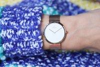 zegarek Obaku Denmark V230LXVWMV różowe złoto Slim
