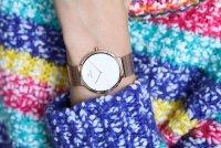zegarek Obaku Denmark V230LXVWMV kwarcowy damski Slim PAPIR LILLE - ROSE