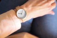 Zegarek Obaku Denmark HASSEL NATUR - ROSE - damski  - duże 8