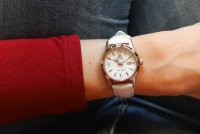 Orient FNR1Q003W0 zegarek srebrny klasyczny Contemporary pasek