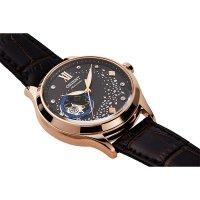 Orient RA-AG0017Y10B zegarek różowe złoto klasyczny Contemporary pasek