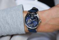 Orient RA-AG0018L10B Blue Moon II Automatic Contemporary klasyczny zegarek srebrny