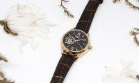 Orient RA-AG0023Y10B Classic Open Heart Automatic Contemporary klasyczny zegarek różowe złoto
