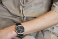 Orient RA-AK0005Y10B zegarek różowe złoto klasyczny Contemporary pasek