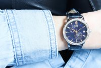 Orient RA-AK0006L10B zegarek srebrny klasyczny Contemporary pasek