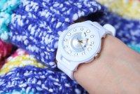 Puma P1011 zegarek biały klasyczny Reset pasek