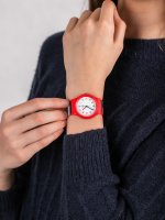 Zegarek damski QQ Damskie VP46-048 - duże 5