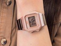 zegarek Casio Vintage B650WC-5AEF różowe złoto VINTAGE Maxi