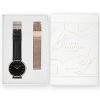 Rosefield BBRMR-X188 damski zegarek Bowery pasek
