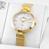 Rubicon RNBE30GISX03BX zegarek złoty klasyczny Bransoleta bransoleta