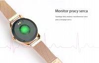 zegarek Rubicon RNBE37SIBX05AX srebrny Smartwatch