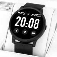 zegarek Rubicon RNCE40BIBX01AX męski z krokomierz Smartwatch