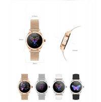 zegarek Rubicon RNBE37RIBX05AX różowe złoto Smartwatch