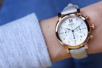Zegarek damski Seiko chronograph SRW834P1 - duże 7