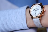 Zegarek damski Seiko chronograph SRW834P1 - duże 8