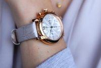 Zegarek damski Seiko chronograph SRW834P1 - duże 10