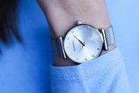 Sekonda SEK.2491 zegarek srebrny klasyczny Fashion bransoleta