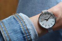 Sekonda SEK.2560 zegarek srebrny klasyczny Fashion bransoleta