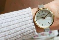 Sekonda SEK.2561 zegarek złoty klasyczny Fashion bransoleta