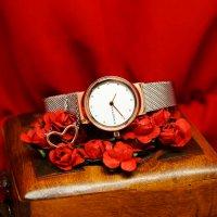 Skagen SKW1101 FREJA Freja fashion/modowy zegarek różowe złoto