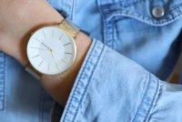 Skagen SKW2722 zegarek złoty fashion/modowy Karolina bransoleta