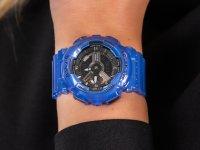 Zegarek damski sportowy  Baby-G BA-110CR-2AER TANDEM SERIES szkło mineralne - duże 6
