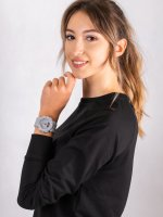 Zegarek damski sportowy  G-SHOCK S-Series GMA-S130VC-8AER S-SERIES STEP TRACKER LIMITED szkło mineralne - duże 4
