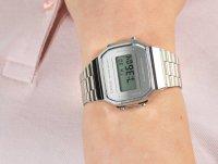 Zegarek damski sportowy Casio VINTAGE Maxi A168WEM-7EF MIRROR FACE szkło mineralne - duże 6