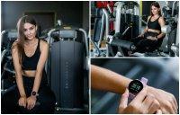 Zegarek damski sportowy Garett Damskie 5903246282665 Smartwatch Garett Sport 24 różowy szkło z tworzywa sztucznego - duże 10