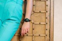 Garett 5903246286359 Damskie Smartwatch Garett Lady Bella czarny stalowy zegarek damski sportowy z tworzywa sztucznego