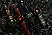 Garett 5903246286458 Damskie Smartwatch Garett Women Karen RT czarno-srebrny skórzany zegarek damski sportowy z tworzywa sztucznego