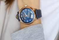 zegarek Timex TW2T86100 różowe złoto Celestial Opulence