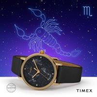 Timex TW2T87600 Crystal Celestial Opulence klasyczny zegarek różowe złoto