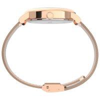 Timex TW2U18700 zegarek różowe złoto klasyczny Full Bloom bransoleta