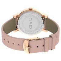 Timex TW2U19300 zegarek złoty klasyczny Full Bloom pasek