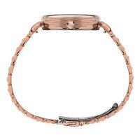 Timex TW2T89400 zegarek różowe złoto klasyczny Model 23 bransoleta