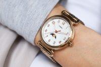 Timex TW2T89400 Model 23 Model 23 klasyczny zegarek różowe złoto