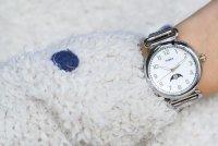 Timex TW2T89600 zegarek srebrny klasyczny Model 23 bransoleta