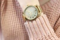 Timex T2N598 zegarek damski Originals złoty