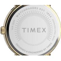 Timex TW2U05400 zegarek złoty klasyczny Originals bransoleta