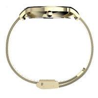 Timex TW2T74600 zegarek złoty klasyczny Transcend bransoleta