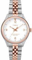Zegarek damski Timex  waterbury TW2T49200 - duże 1