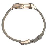 Timex TW2T75000 zegarek różowe złoto klasyczny Waterbury pasek